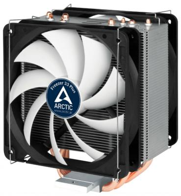Кулер для процессора Arctic Cooling Freezer 33 Plus Socket 1150/1151/1155/1156/2011/2011-3/AM4 видеокарта asus nvidia geforce gt 710 gt710 sl 2gd5 2гб gddr5 low profile ret