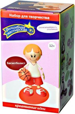 """Набор для творчества Волшебная мастерская создай куклу """"Баскетболист"""" от 12 лет к002 от 123.ru"""