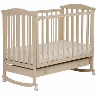 Кроватка-качалка Лель Лютик АБ 15.1 (слоновая кость) кроватка качалка лель лютик аб 15 1 белый
