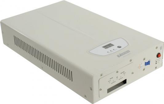 Стабилизатор напряжения Powerman AVS 3000S серый стабилизатор напряжения powerman avs 500s 1 розетка серый