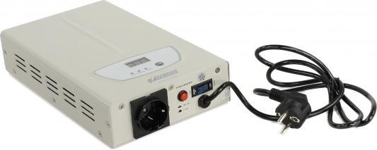 Стабилизатор напряжения Powerman AVS 1000S белый 1 розетка