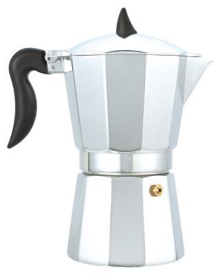 Кофеварка Wellberg WB-1566 серебристый