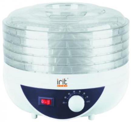 Сушилка для овощей и фруктов Irit IR-5925 белый прозрачный