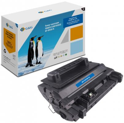 Картридж G&G NT-CF281A для HP LaserJet Enterprise Flow MFP M604/605/606/630 черный 10500стр CF281A nv print cf303a magenta тонер картридж для hp laserjet enterprise flow mfp m880z m880z plus m880z plus nfc