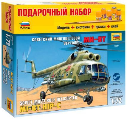 "Вертолёт Звезда ""Ми-8"" 1:72 хаки 7230П"