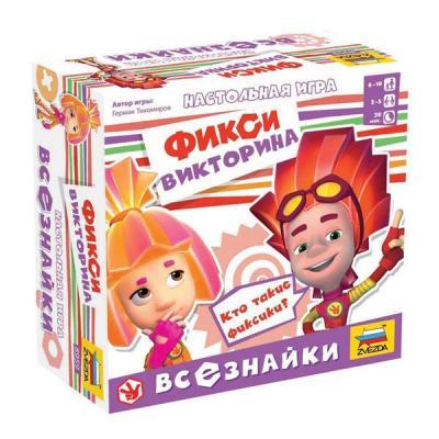 """Настольная игра ЗВЕЗДА развивающая """"Всезнайки"""" 8959"""
