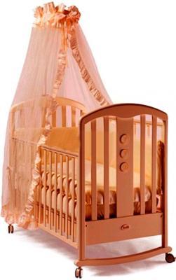 Кроватка-качалка Feretti Elegance Swing (noce) детские кроватки feretti elegance dondolo качалка