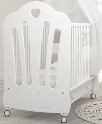 Кроватка Angela Bella Стефани (белый)