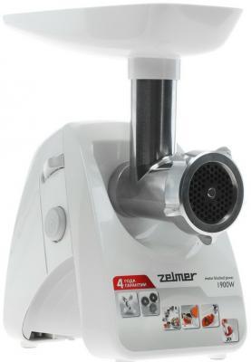 Мясорубка Zelmer ZMM1289SRU 650 Вт белый