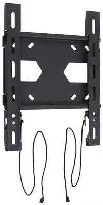 "Кронштейн Holder LCD-F2511-B черный для ЖК ТВ 19-42"" настенный от стены 20мм наклон 0° VESA 300x300 до 40 кг кронштейн жк плазма 20 40 накл черный holder"