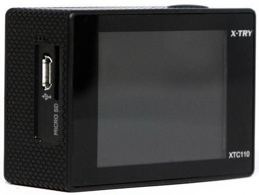Экшн-камера X-TRY XTC110 черный от 123.ru
