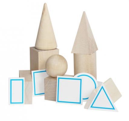 Игровой набор КРАСНОКАМСКАЯ ИГРУШКА Геометрические тела Н-39 краснокамская игрушка развивающая пирамидка кольцевая