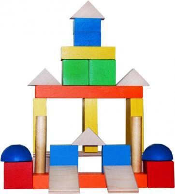 Деревянный конструктор КРАСНОКАМСКАЯ ИГРУШКА Малыш 30 элементов НСК-04 конструктор краснокамская игрушка к 02 пираты 40 элементов