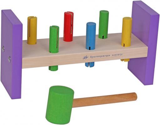 Фото - Игра с молоточком КРАСНОКАМСКАЯ ИГРУШКА Н-01 Стучалка логическая игрушка краснокамская игрушка ли 01 лягушка