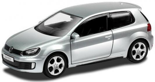 Автомобиль Hoffmann Volkswagen Golf A6 GTI 1:32 серебристый
