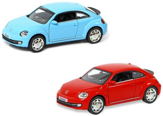 Автомобиль Hoffmann Volkswagen Beetle A6 Coupe 2012 1:32 цвет в ассортименте
