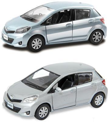 Автомобиль Hoffmann Toyota Yaris 1:32 цвет в ассортименте toyota funcargo в омске