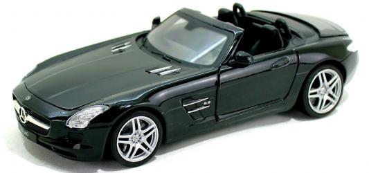 Автомобиль Hoffmann Mercedes-Benz SLS AMG 1:24 зеленый купить автомобиль мерседес в германии