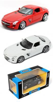 Автомобиль Hoffmann Mercedes-Benz SLS AMG 1:24 цвет в ассортименте bburago модель автомобиля mercedes benz sls amg roadster