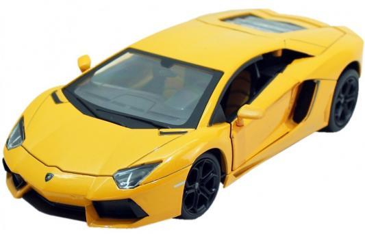 Автомобиль Hoffmann Lamborghini Aventador LP 700-4 1:24 желтый