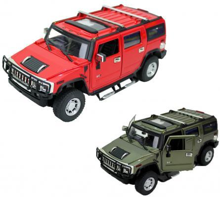 Внедорожник Hoffmann Hummer H2 SUV 1:24 цвет в ассортименте