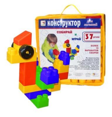 Конструктор Пластмастер Для малышей 37 элементов 14015 37 элементов