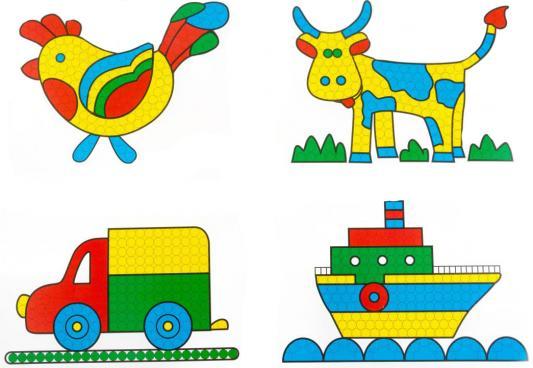 Мозайка Пластмастер С картинками 275 элементов от 123.ru