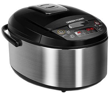 Мультиварка Redmond RMK-M452 черный серебристый 860 Вт 5 л multi kitchen redmond rmk m452 multivarka cooker multivarki
