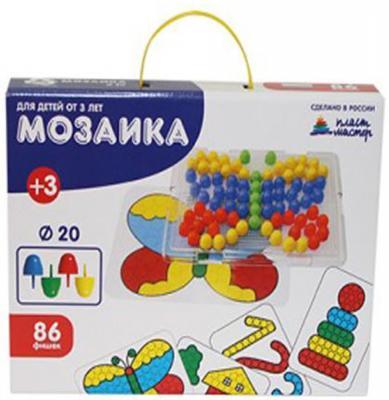 Мозайка Пластмастер С картинками 86 элементов от 123.ru