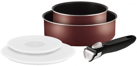 Набор посуды Tefal Ingenio Red 04162840 5 предметов (9100022257)