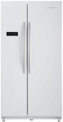 Холодильник Side by Side SHIVAKI SBS-615DNFW белый холодильник side by side samsung rs57k4000sa
