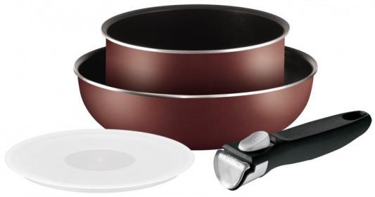 Набор посуды Tefal Ingenio Red 04162830 4 предмета (9100022256)