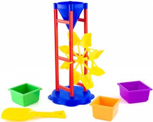 Купить Песочный набор Пластмастер № 9 5 предметов 70039 в ассортименте, Ведерки, лопатки и формочки для детей