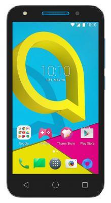 Смартфон Alcatel U5 5044D синий 5 8 Гб LTE Wi-Fi GPS 3G 5044D-2CALRU1 смартфон zte blade a510 серый 5 8 гб lte wi fi gps 3g