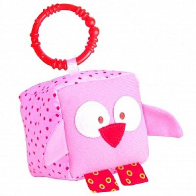 Кубик МЯКИШИ ЗооМякиши Совенок 260 от 1 года 1 шт подвесная игрушка мякиши кубик зоомякиши слоник 257