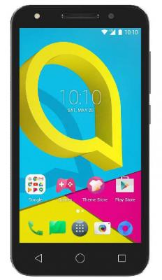 Смартфон Alcatel U5 5044D серый 5 8 Гб LTE Wi-Fi GPS 3G ноутбук lenovo ideapad 320 15ikb 15 6 intel core i5 8250u 1 6ггц 6гб 1000гб amd radeon r520m 2048 мб windows 10 81bt0010rk черный