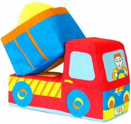 Развивающая игрушка МЯКИШИ Машинка-грузовичок» игрушка развивающая мякиши книжка мягкая кошки мышки