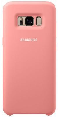 Чехол Samsung EF-PG950TPEGRU для Samsung Galaxy S8 Silicone Cover розовый samsung pg 838r sb