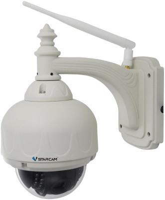 Камера VStarcam С7833WIP (X4)-H Уличная купольная беспроводная IP-камера 4X Zoom, 1280x720, P2P, 3.6mm, 0.8Lx., MicroSD. -35+50.