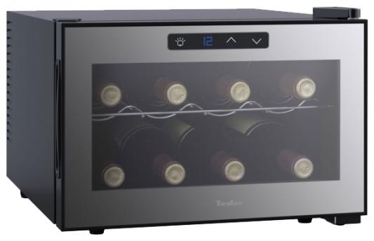 Винный шкаф Tesler WCH-080 серый