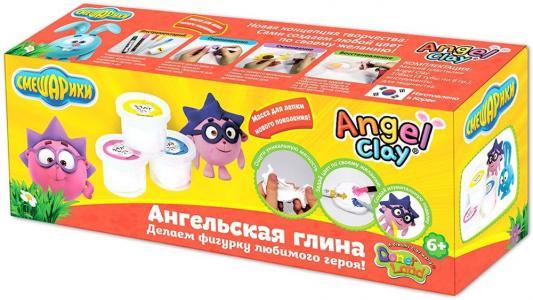 Масса для лепки Angel Clay Смешарики, Ежик мини AA03031SB масса для лепки candy clay набор конфетки