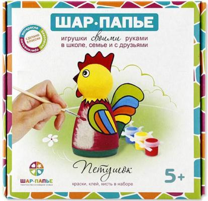 Набор для творчества ШАР-ПАПЬЕ Петушок от 5 лет В02701 скальп петуха veniard chinese cock cape