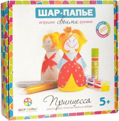 Купить Набор для творчества ШАР-ПАПЬЕ Принцесса от 5 лет В01452, Ассорти наборов для творчества