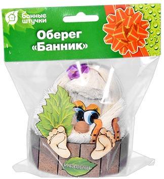 Оберег благополучия Банные штучки Банник 32653 от 123.ru