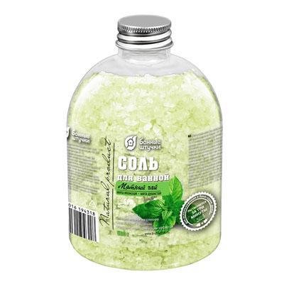 Соль для ванн Банные штучки Мятный чай 32431 500г