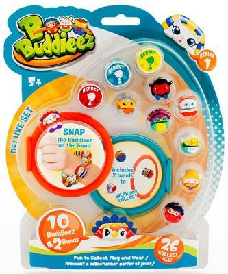 Игровой набор 1toy Bbuddieez 10 шармов-персонажей 2 браслета Т59260 — игровой набор 1toy вантой bbuddieez набор 10 шармов 2 браслета 23 19 2см