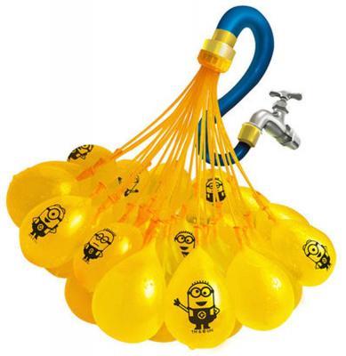 Игровой набор Bunch O Balloons ZURU Стартовый набор Миньоны из 100 шаров Z5653 bunch o balloons 100 шаров