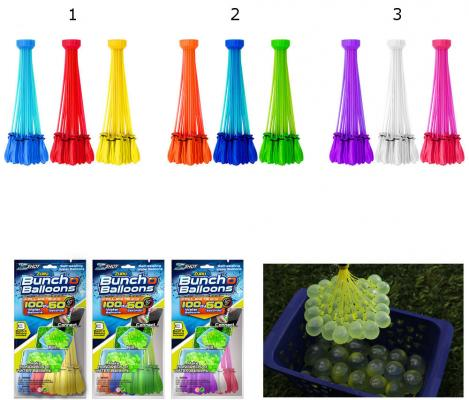 Игровой набор Bunch O Balloons ZURU Стартовый набор из 100 шаров, в асс-те Z1213
