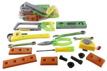 Набор инструментов Shantou Gepai Строитель 17 предметов SY553-1/2 набор инструментов сервис ключ 17 предметов 1 2