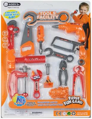 Набор инструментов Shantou Gepai 36778-49 13 предметов игрушечные инструменты shantou gepai набор инструментов маленький мастер
